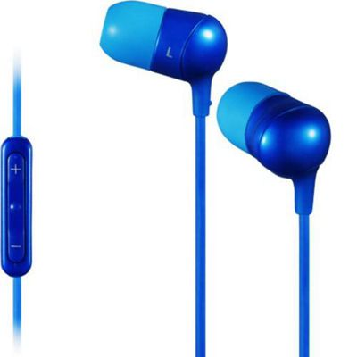 JVC HA FR50 Marshmallow Remote Headphones with Microphone - Blue