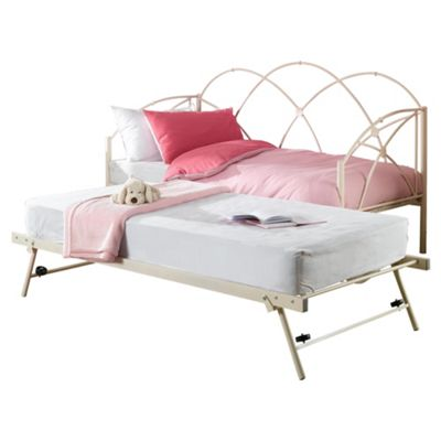 Carly Underbed Trundle, Antique White