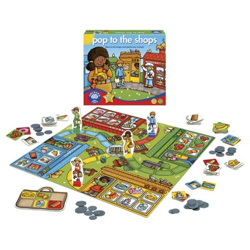 Orchard Toys Pop To The Shops Educational Game