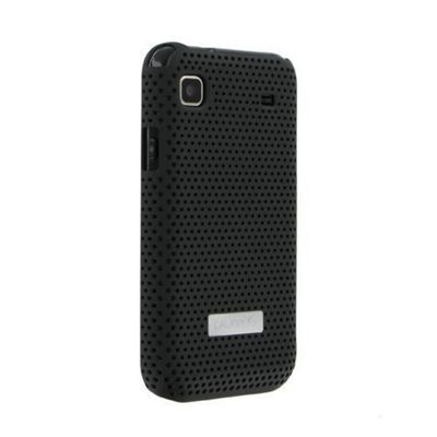 Anymode Metal Look Case for Samsung Galaxy S - Black