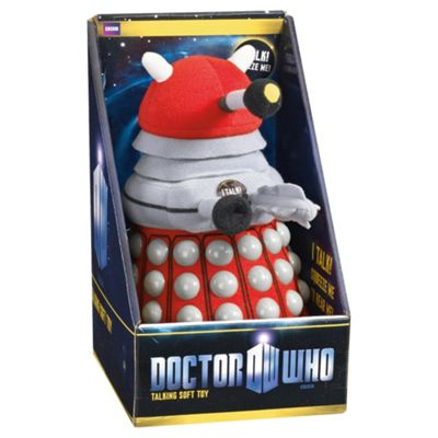Doctor Who Medium Soft Toy Red Dalek
