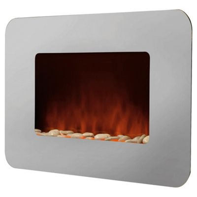 Pifco PE184 Wall Mounted Fire with Pebble