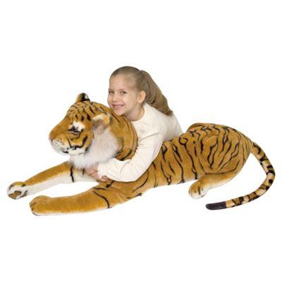 Melissa & Doug Tiger Giant Soft Toy