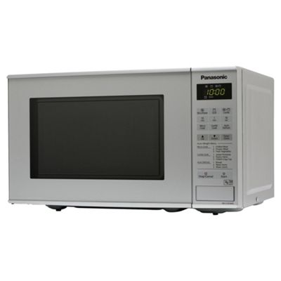 Panasonic NN-K181MMBPQ Microwave Oven with Grill, 20L - Silver