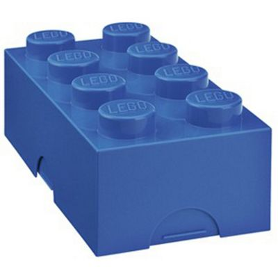 LEGO Storage Lunch Box 8, Blue