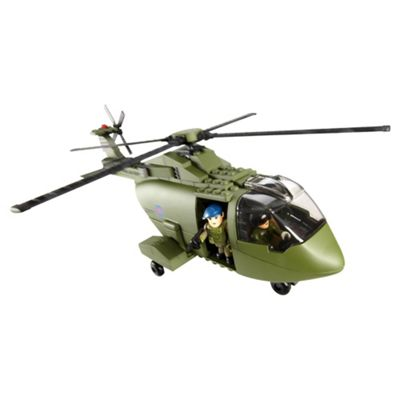Character Building H.M Armed Forces Merlin Helicopter Set