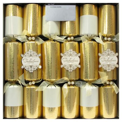 Buy Tesco Finest Fabulous christmas crackers 6 pack from our All