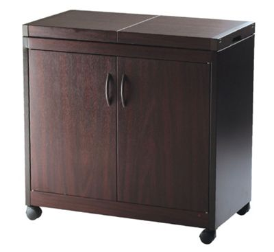 Hostess Connoisseur Trolley - Dark Brown