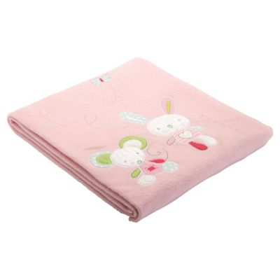 Tesco Fleece Blanket, Mix & Patch