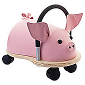 Wheelybug Piggy Ride-On Toy, Large
