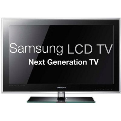 Samsung Series 5 D580 40 inch full HD 1080p LCD Television 1920 x 1080 DTV Tuner DLNA HDMI USB VGA RJ-45 with  Freeview HD (Black)