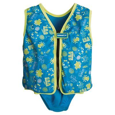 Speedo Sea Squad Swim Vest, 3-4 years, Blue