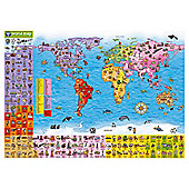 Orchard Toys World Map Puzzle & Poster Jigsaw Puzzle