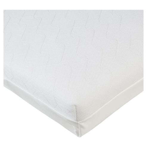 Kit For Kids Ventiflow Pocketed Spring Continental Cot Mattress 120x60cm