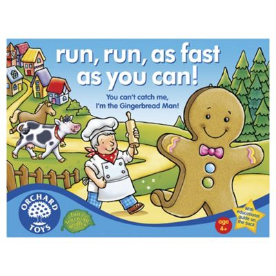 Orchard Toys Run, Run, As Fast As You Can Educational Game