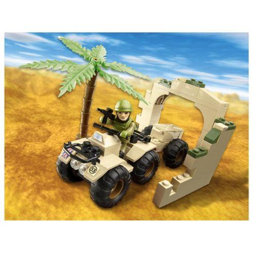 Character Building H.M Armed Forces Raf Regiment Quad Set