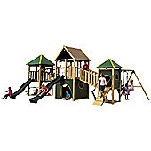 Plum Wildebeest Large Wooden Play Centre