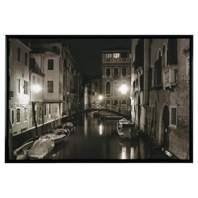 Venice Framed Digital Print Canvas