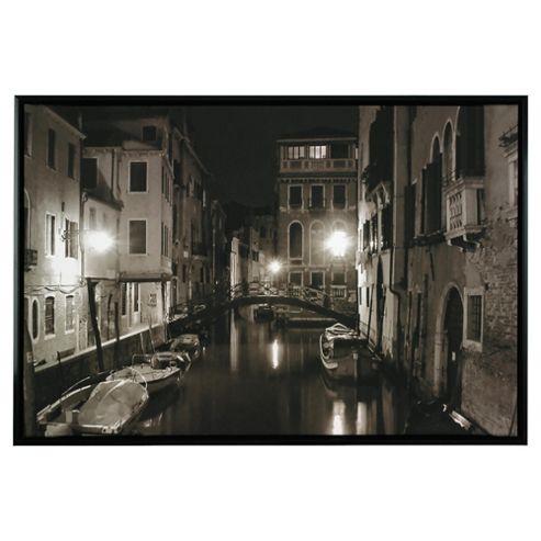Venice Framed Digital Print Canvas