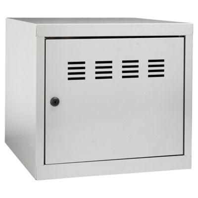Pierre Henry A4 Small Locker Filing Cabinet, Silver