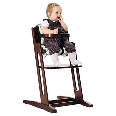 BabyDan Danchair Highchair, Walnut