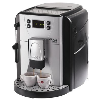 Gaggia Unica 1.7L Bean To Cup Multi Beverage Coffee Machine - Black