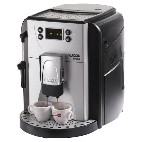 Gaggia Unica 1.7L Bean To Cup Multi Beverage Coffee Machine - Black