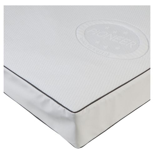 Kit For Kids Outlast Pioneer Pocketed Spring Continental Cot Mattress 120x60cm