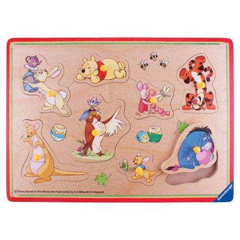 Winnie The Pooh Wooden Puzzle 8 Piece