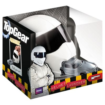 Top Gear Helmet Launcher Inc Diecast Model - Assortment - Colours & Styles May Vary