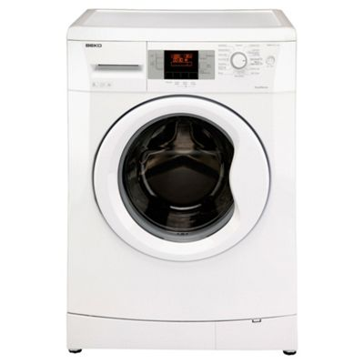 Beko WMB81241LW Washing Machine, 8kg Wash Load, 1200 RPM Spin, A+ Energy Rating. White