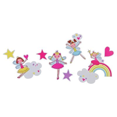 Kids Fairies Wall Stickers 3 pack