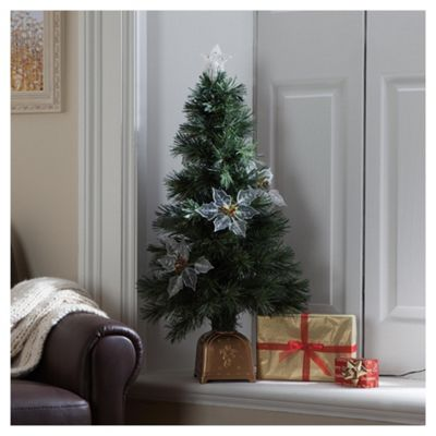 Buy Festive 4ft Fibre Optic Christmas Tree Prices