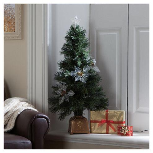 Festive 4ft Fibre Optic Christmas Tree
