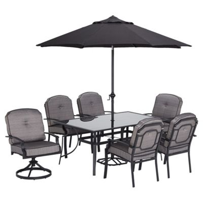 Dobbies Garden Furniture Sale Buy dobbies wilmslow 6 seat dining set with parasol from our garden dobbies wilmslow 6 seat dining set with parasol workwithnaturefo