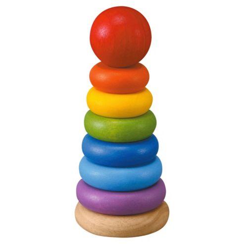 Plan Toys Stacking Ring Wooden Toy