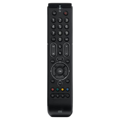 One For All Universal TV Remote Control - Black