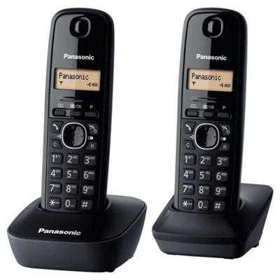 Panasonic KX-TG1612 Twin Cordless Home Phone