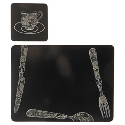 Divine Set of 4 Placemats and Coasters