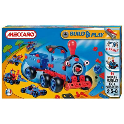 Meccano Build & Play Train