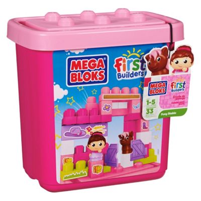 Mega Bloks First Builders Pony Stable