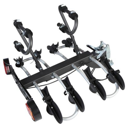 Mottez A018P4RA Folding Platform 4 Bike Carrier