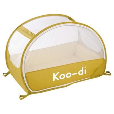 Koo-di Pop Up Bubble Travel Cot, Lemon and Lime