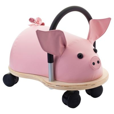 Wheelybug Pig Ride-On, Small