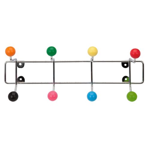 Hat Coat rack with coloured assorted balls