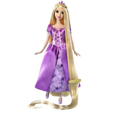Disney Princess Tangled Rapunzel Doll Purple