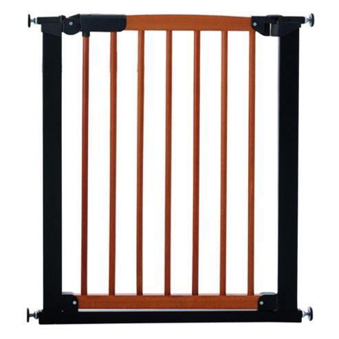 Babydan Avantgarde Pressure Indicator Safety Stair Gate, Cherry & Black