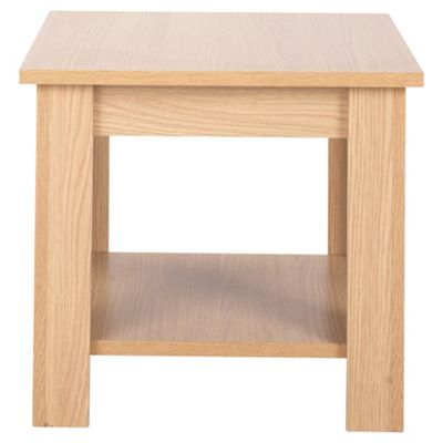 Tilson Side Table Oak Effect