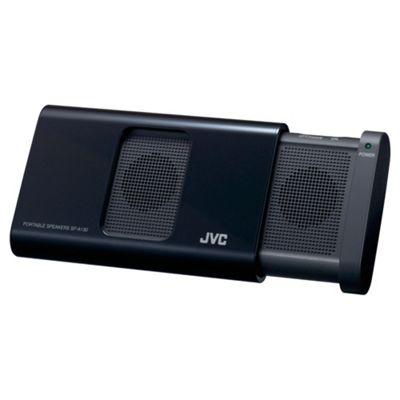 JVC SP-A130-B-E Portable Stereo Speaker - Black