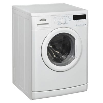 Whirlpool WWDC 6410 Washing Machine, 6kg Wash Load, 1400 RPM Spin, A+ Energy Rating. White